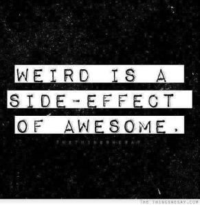 Hello Weirdo!