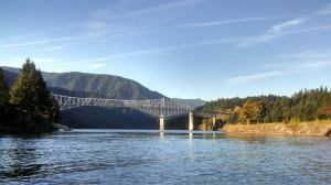 Bridge of the Gods at Cascade Locks, Oregon