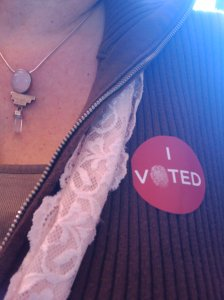 Women have had the right to vote my entire adult life.